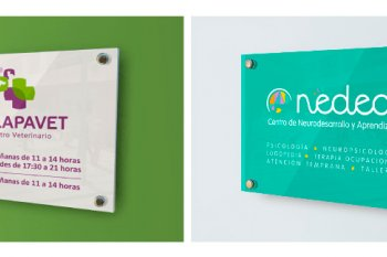 Placas para empresa, asociaciones, empresas deportivas, etc..